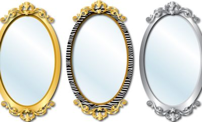 oval mirror designs