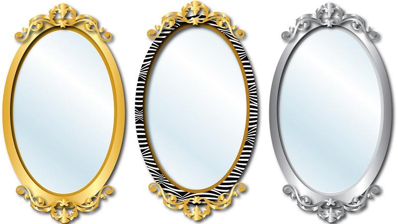 oval mirror designs