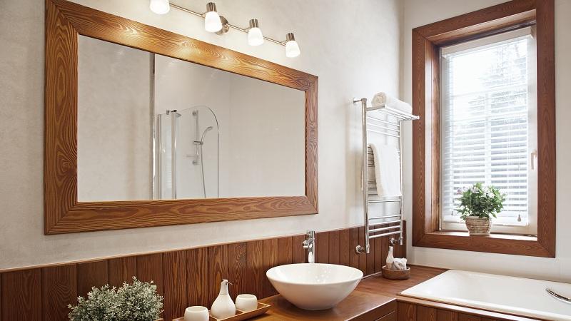 Modern Wooden Mirror Designs