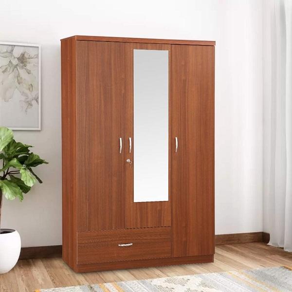 Simple Wooden Wardrobe Designs