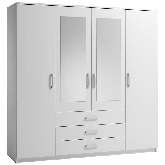 4 Door Wardrobe Designs