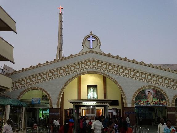 Annai Velankanni Church, Besant Nagar