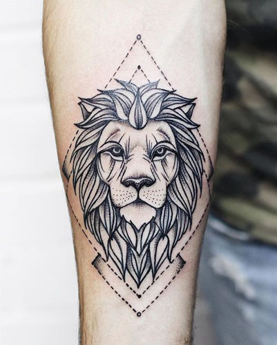 Zak6uvn3wmnh5m Lion outline tribal embroidery design in 3x3 4x4 and 5x7 sizes this is hand digitized machine embroidery design. https stylesatlife com articles animal tattoo designs