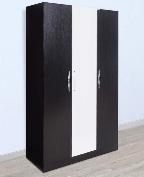 Modern black wardrobe designs