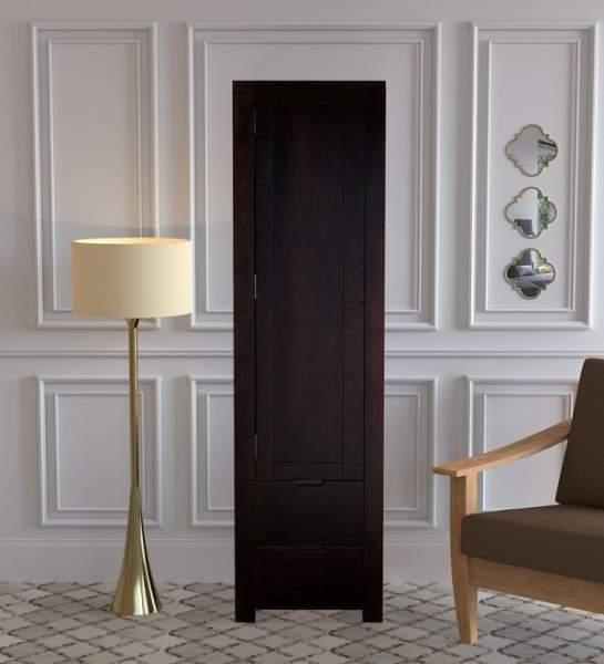 black wardrobe cabinet