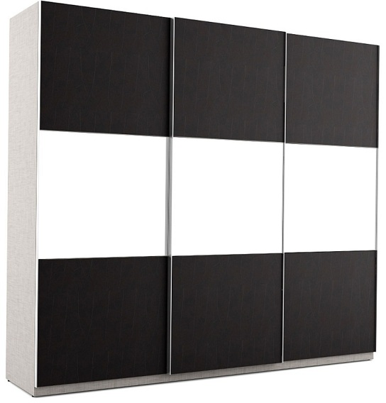 black clothes wardrobe