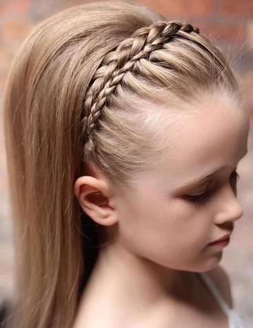 Braided Puffstyle