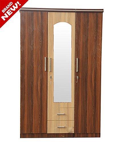wooden wardrobe designs india