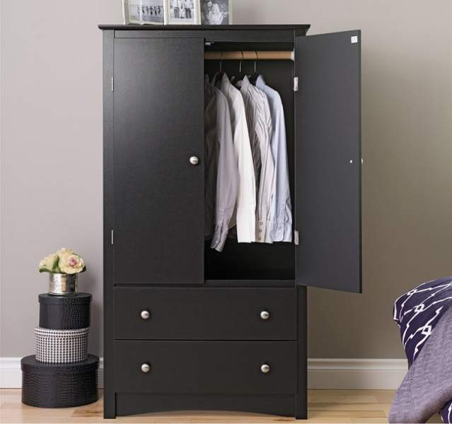 Best black wardrobe designs