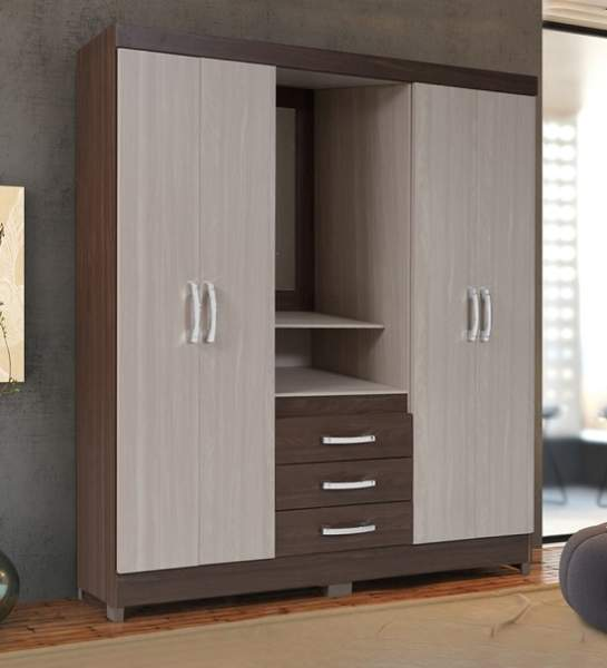 Best 4 Door Wardrobe Designs