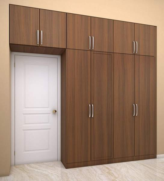 wardrobe designs for small bedroom indian
