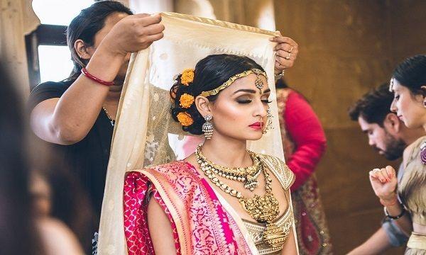 North Indian Jain Bridal Makeup