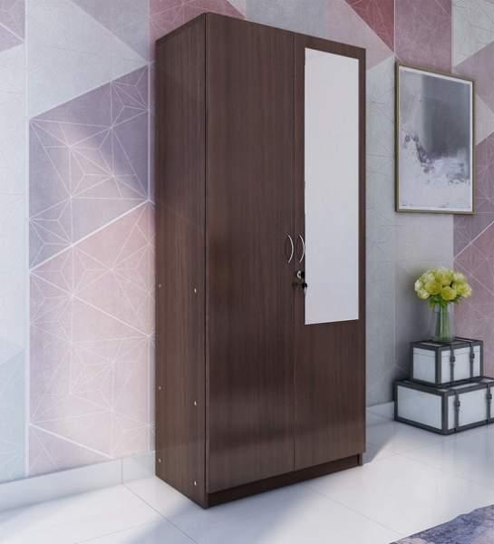 Simple Mirrored Wardrobe Designs
