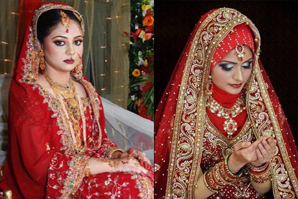 North Indian Muslim Bridal Makeup