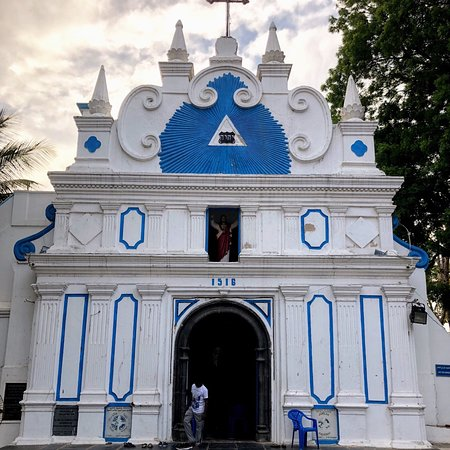 Our Lady Of Light Shrine (Luz Church), Luz Road