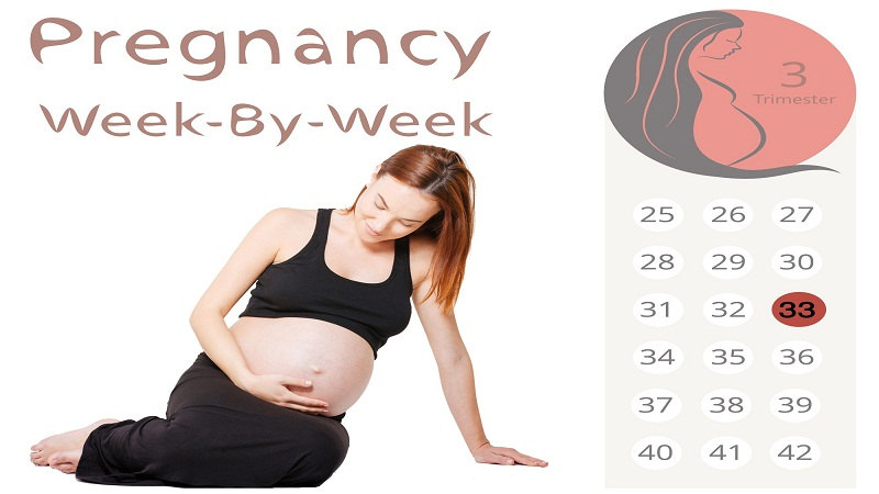 33 weeks of pregnency