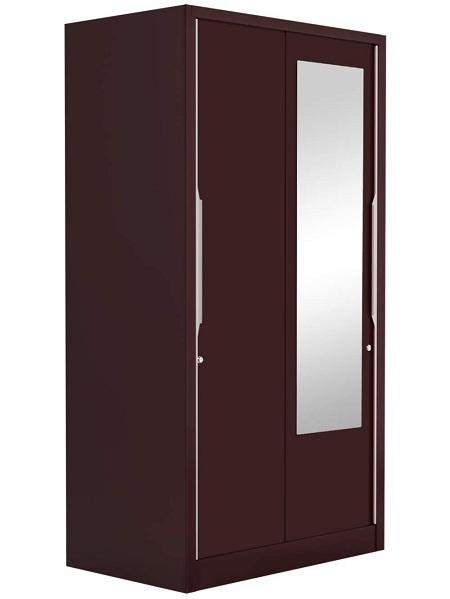 2 door metal wardrobe