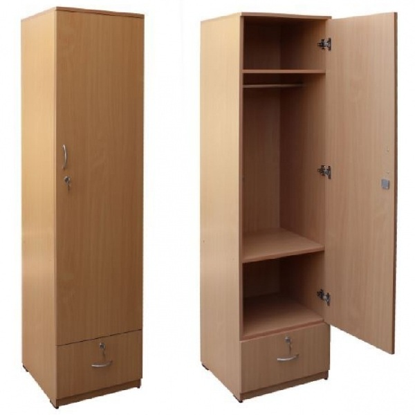 Single Door Wardrobe Designs