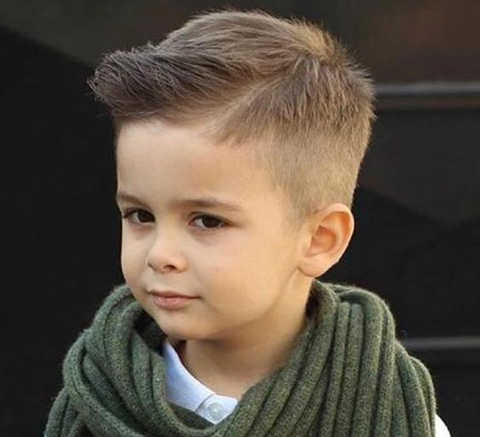 Spike-up Haircut for Boys