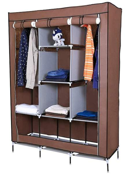 Simple Corner Wardrobe Designs