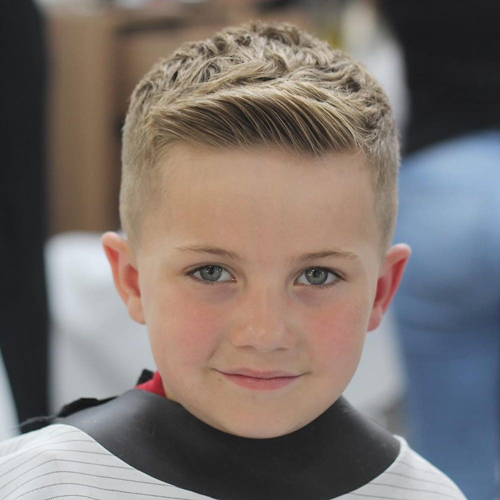 10 New And Best Haircuts And Hairstyles For Boys In 2019 Styles At