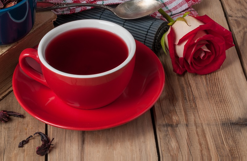 health benefits of rose tea