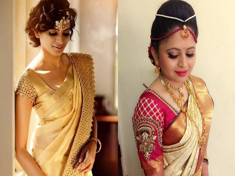 15 Best Pattu Saree Blouse Designs With Pictures Styles At Life