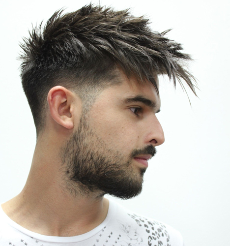 The Pompadour Variant Style for Young Men
