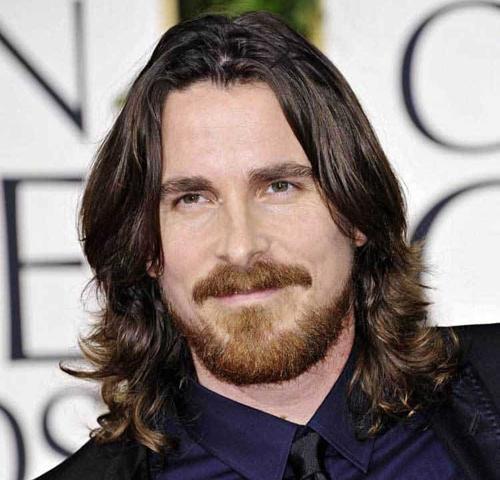 Wavy Layer Long Hair Cut with Beard