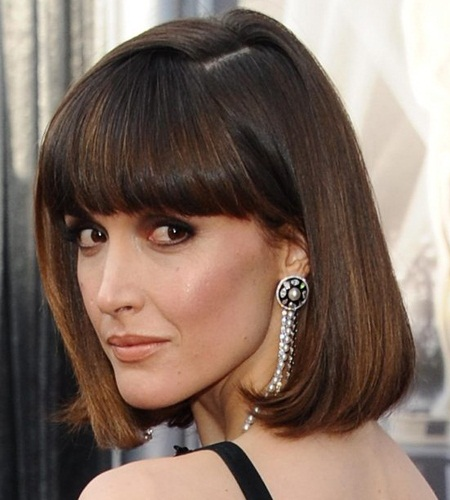 Blunt Cut Style For Thick Hair Woman