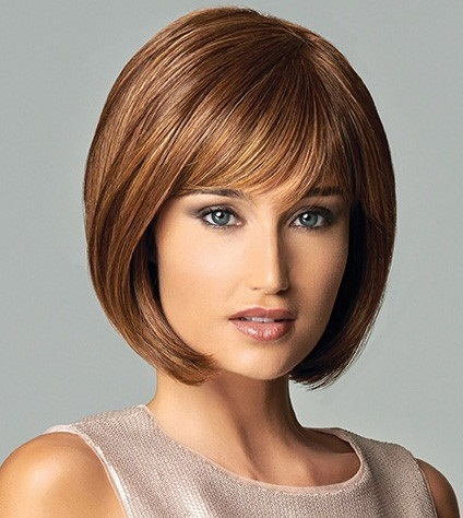 Bob Cut in Blunt Hairstyle
