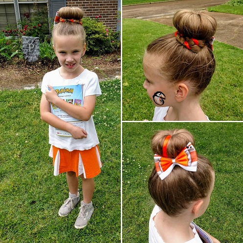 School Hairstyle for Modern Girls