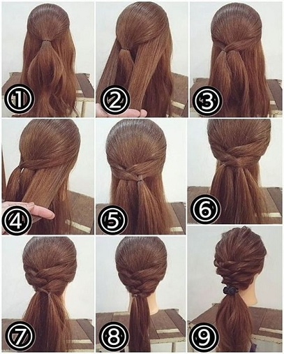 Easy and Edgy Festival Hairdo for Modern Woman