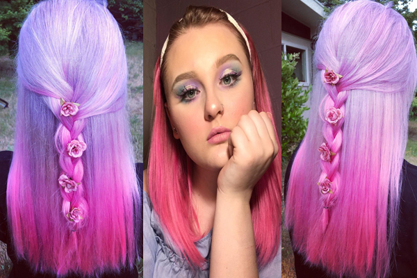 Fancy Straight Hairstyle