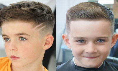 Hairstyles for School Boys