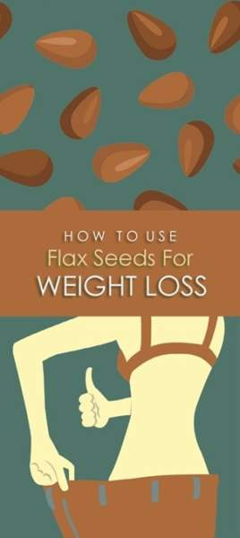Flaxseed oil pills lose weight