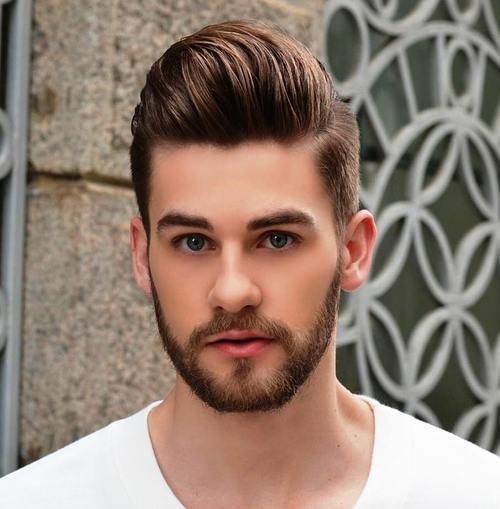 Smart and Polished Hairstyle for Young Guys
