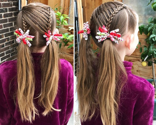 Braiding in Random Hairstyle