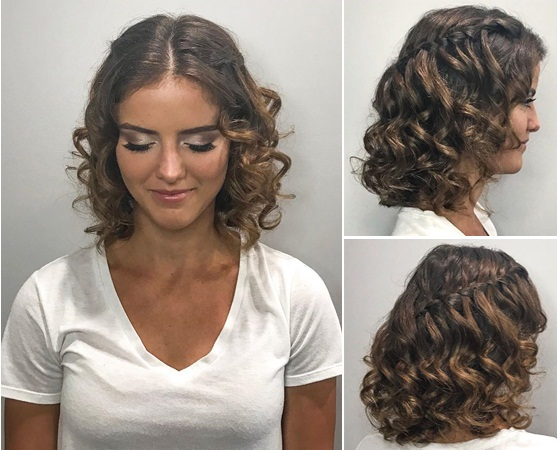 Braided Formal Hairstyle