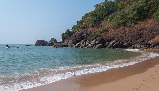 Butterfly Beach in Goa For Honeymoon