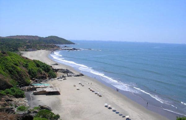Chapora Beach For Couples