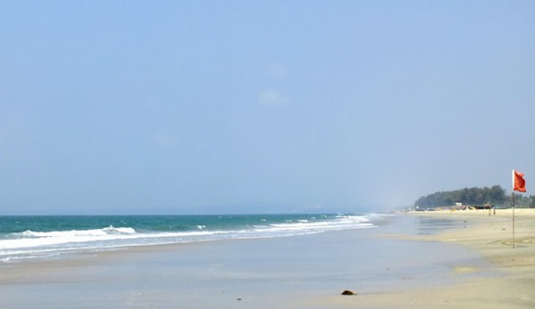Colva Beach in Goa For Couples