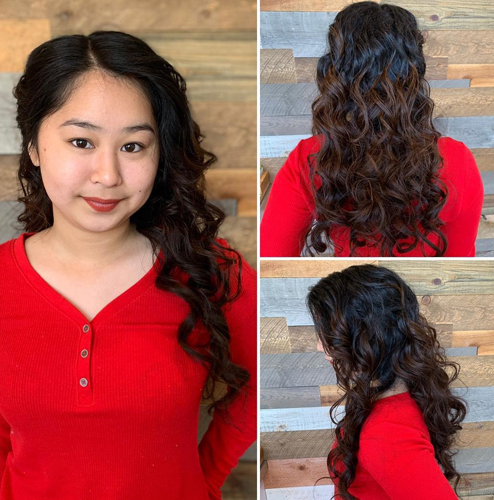 Curly Formal Hairstyle for Women