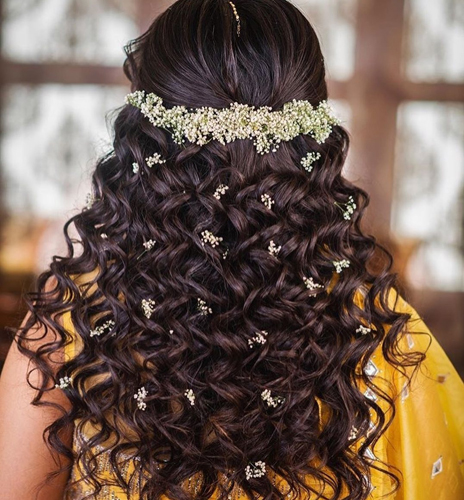Curly and Cute Open Hairstyle