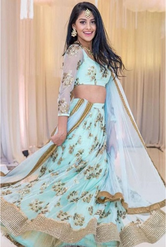 Party Wear Lehenga Choli Elaborate Your Traditional Look In Parties