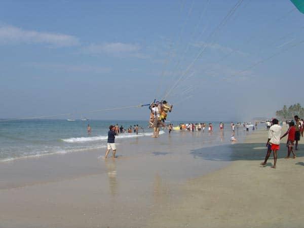 Mobor Beach in Goa