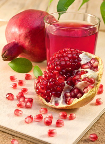 pomegranate juice for asthma attack