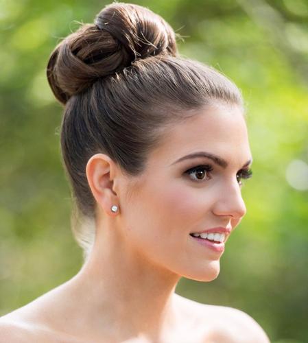 Sleek Formal Bun Hairstyle