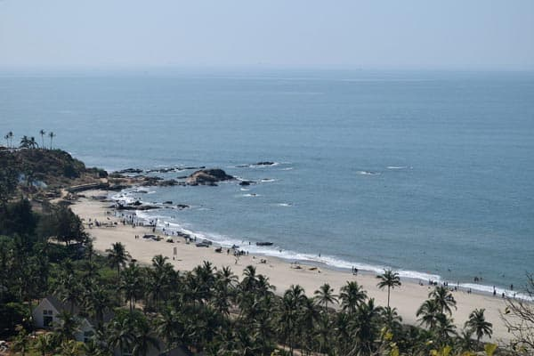Vagator Beach For Newlywed Couples