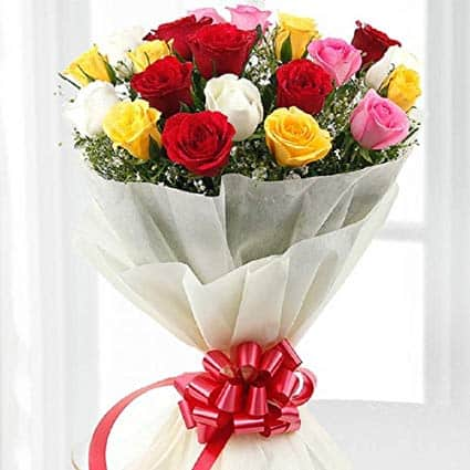 flower bouquet for 5th anniversary
